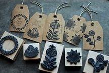 Stamping Inspiration / Ideas for stamps I want to hand carve.