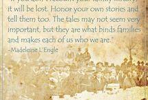 Genealogy / My Family History