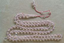 My Prayer Beads / Tesbihlerim / Islamic Prayer Beads, Dua taneleri, 33 ve 99'luk Tesbihler