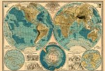 Map Obsessed / I adore maps!