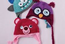 CROCHET baby hats / Crochet patterns and tutorials for baby & toddler headwear - hats, beanies, headbands, etc...