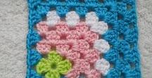 CROCHET granny squares / Huge collection of crochet granny square motifs, patterns, and tutorials.  Crochet granny triangles, hearts, flowers, hexagons, and more!