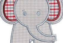 SEWING baby appliqué / Sewing patterns and tutorials for appliqués you can put on  baby blankets, clothes, bags, etc.