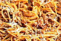 Spaghetti and Cheesecake