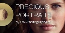 Precious Portraits / A collection of portraits shot by Severin Wendeler photographers.