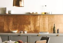 Bold Kitchen Backsplashes / Bold Kitchen Backsplashes