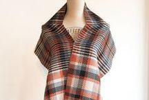Marianna Nello Handwoven Scarves | Winter 2017 Collection / Handwove Textiles By Marianna Nello | Winter Collection 2017 | Textiles Design | Instagram: @Marianna.nello