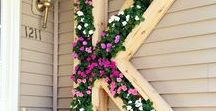 Gardening / How to beautify your outdoor spaces.  Gardens, planters, decks, porches, yards, and more! - especially gardening, both vegetable and flower gardens.