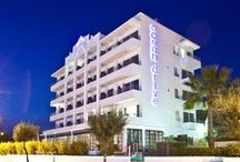 OD Ocean Drive, Ibiza / Ocean Drive Hotel combines retro glamour with its instantly recognizable art deco design. It was inspired by the architecture of Miami's South Beach, as well as New York's roaring 20's.