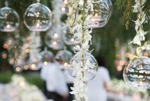 WEDDING INSPIRATION / Elegant and fun inspirational wedding decor and ideas to make your special day unique to you.
