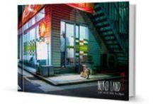 Livre - Neko Land / Ce livre de photographie animalière urbaine vous emmène à la rencontre des chats japonais, des Neko-cafés de Tokyo aux petits villages de pêcheurs d'Okinawa. | Photographies : Alexandre Bonnefoy / Illustrations : Delphine Vaufrey | Editions Issekinicho | 27,80 € |