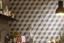 #hexagonal tiles #esagone / by Paolo Pagani