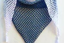 Crochet Scarf, Shawl, Poncho