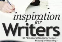 Inspiration for Writers / Things to inspire & encourage aspiring authors, bloggers, or a bestselling writers, based on Chicken Soup for the Soul: Inspiration for Writers. http://amzn.to/1kTHFAg