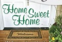 Home Sweet Home / An apartment, a house, no matter what you call home this board is filled with DIY crafts, quotes and inspiration to make your home extra sweet. http://amzn.to/1kTHFAg