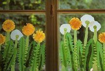 Fenster-Deco... / Warte kurz, ich zähl mal eben schnell unsere Fenster !