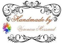 Handmade by Veronica / questi sono i miei lavori per dar sfogo alla mia creatività:)