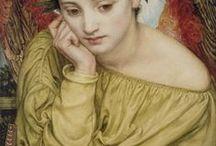Painting(catholic art angels)