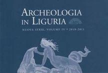 Pubblicazioni / Pubblicazioni a cura della Soprintendenza. Alcune pubblicazioni sono disponibili in pdf per il download sul sito della Soprintendenza. http://archeoliguria.beniculturali.it/index.php?it/131/pubblicazioni
