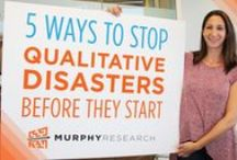 "Qualitative Research Tips / Murphy Research's marketing research activities and tips for extracting the ""why"" behind opinions, beliefs and decisions of the target consumer. #newmr #mrx #collages #icebreakers #activities #tips"