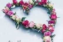 Hochzeit: BLUMEN...