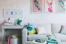 Home is where the heart is / Home decor that brightens up everyday life.