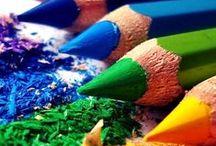 Malování,kreslení (Painting, drawing)