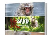 """Livre - SARU, Singes du Japon / Photos extraites du livre """"SARU, singes du Japon"""" Actuellement en précommande sur le site des Éditions Issekinicho ! ( Parution octobre 2016 )"""