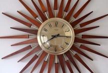 Mid Century Clocks