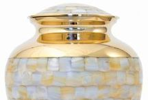 Metal Cremation Urns / The Casket Store offers metal memorial cremation urns at discount prices to the public. http://www.thecasketstore.com