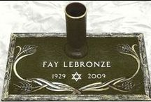 BUDGET Individual Bronze Grave Markers / Discount prices on Individual Bronze Markers designed the way you want. http://www.thecasketstore.com