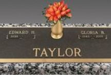 Companion Bronze Grave Markers / Discount prices on companion bronze gravestones designed the way you want. http://www.thecasketstore.com