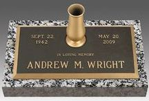 Individual Bronze Grave Markers / Discount prices on individual bronze grave markers designed the way you want. http://www.thecasketstore.com