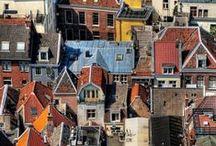 Städte und Dörfe Europas
