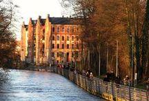Flüsse in den Städten