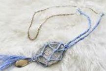 κοσμήματα απο κλωστές -threads and ribbons