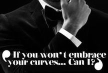 Embrace the curves! <3 / I'm a curvy girl, and I'm proud of this.