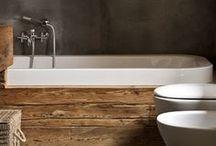 bathroom & Wood
