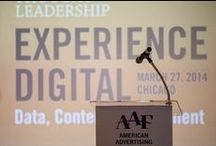 Edge Effect Digital Conference / In 2014, the American Advertising Federation successfully hosted Experience Digital in Chicago, IL. Back by popular demand, the conference has now been branded as Edge Effect and will take place again in Chicago on March 18, 2015 - details here: http://aaftl.com/home/edge-effect-digital-advertising-conference/ / by American Advertising Federation
