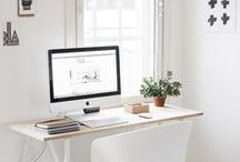 OFFICE INSPIRATION / Because creativity flourishes in pretty environments