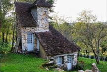 Country Cottages / One of these days? I would love a cute cottage.