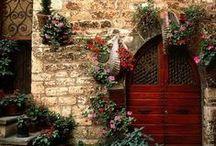 Türen, Pforten, Torbogen