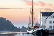 Segelboote und Segelschiffe
