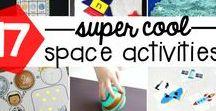 Kids Space Activities #STEM #STEAM