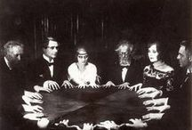 Seances and the Occult / Vintage, victorian era, occult, seances, spirit photography, creepy