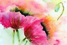 FLOWERS & PLANTS - natural media