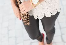 Fashion and Outfit Ideas / Lots of outfit ideas for smart, casual, work, meeting friends for coffee...