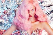Pink Hair / Is your client looking for something edgy? They may want to go pink!