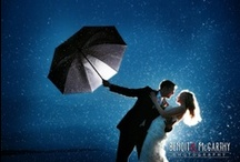 Mood lighting wedding photos / The latest trend in wedding photography!