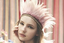 SENIOR STYLE: Earthy Romance / This soft look is very dainty and girly with a twist of hippie flare. The ingredients of this style: Lace, Crochet, Suede, Feathers, Fringe, Dresses, Skirts, Vests, Soft Earth Tones, Soft Pinks, Turquoise, Cream, Blush, Peach, Loose Braids, Headbands, Boots, & Leather Sandals.